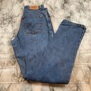 Levi's 505 Classic Relaxed Denim Mom Jeans 90s